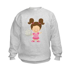 Volleyball Girl Sweatshirt