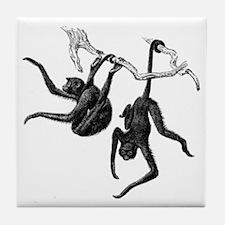 Spider Monkeys Tile Coaster