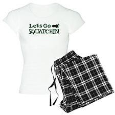 Let's Go Squatchin Pajamas