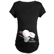 Cute 1st Easter Bunny Pregnancy T-Shirt