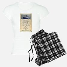 3rd Class Daily Menu Pajamas