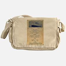 3rd Class Daily Menu Messenger Bag