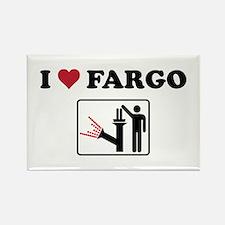 Unique Fargo Rectangle Magnet