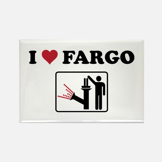 Cute Fargo the movie Rectangle Magnet