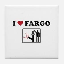 Unique Fargo Tile Coaster