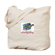 Never Too Young to Start Snorkeling Tote Bag