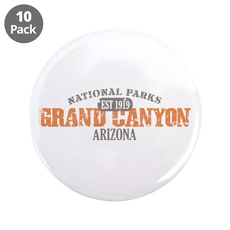 "Grand Canyon National Park AZ 3.5"" Button (10 pack"