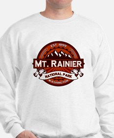 Mt. Rainier Crimson Sweatshirt