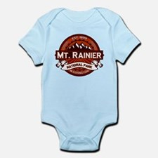Mt. Rainier Crimson Infant Bodysuit