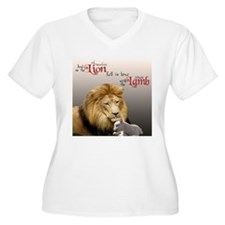 Funny Lion and lamb T-Shirt
