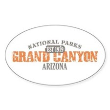 Grand Canyon National Park AZ Decal