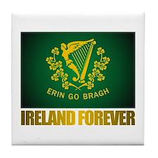 """Ireland Forever"" Tile Coaster"