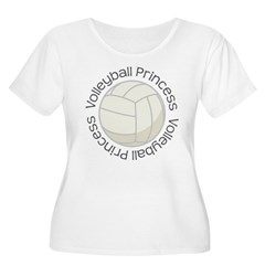 Volleyball Princess Gift T-Shirt