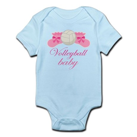 Volleyball Baby Gift Infant Bodysuit