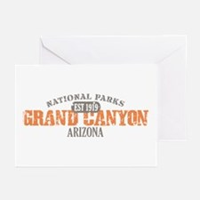 Grand Canyon National Park AZ Greeting Cards (Pk o