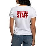 HoopTactics Basketbal Staff Women's T-Shirt