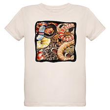 Snake collage t-shirts T-Shirt