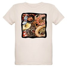 Snake collage t-shirts T-Shirt