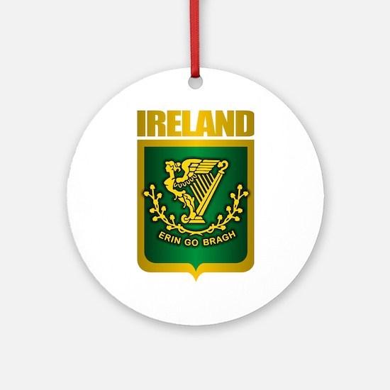 """""""Irish Gold"""" Ornament (Round)"""