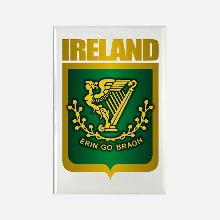 """Irish Gold"" Rectangle Magnet"