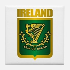 """Irish Gold"" Tile Coaster"