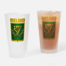 """Irish Gold"" Drinking Glass"
