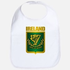 """Irish Gold"" Bib"