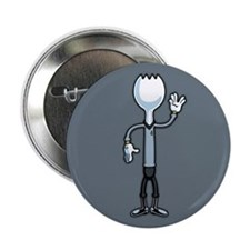 "Mr. Spork 2.25"" Button"