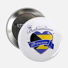 "Bahamian Princess 2.25"" Button"