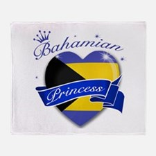 Bahamian Princess Throw Blanket