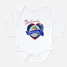 Belizean Princess Long Sleeve Infant Bodysuit