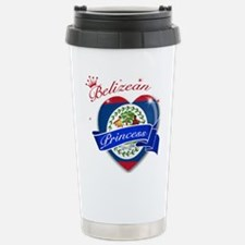 Belizean Princess Stainless Steel Travel Mug