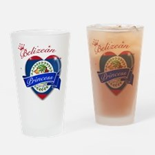 Belizean Princess Drinking Glass