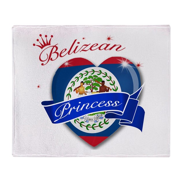 Belizean princess throw blanket by studio438 for Belizean style house plans