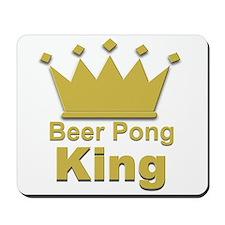 Beer Pong King #2 Mousepad