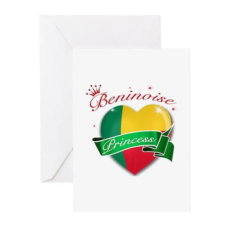Beninoise Princess Greeting Cards (Pk of 10)