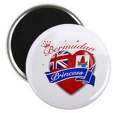 """Bermudan Princess 2.25"""" Magnet (10 pack)"""