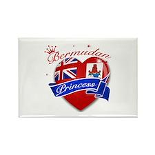 Bermudan Princess Rectangle Magnet (10 pack)