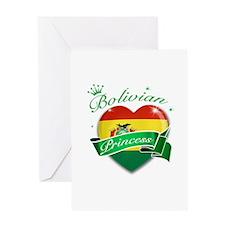 Bolivian Princess Greeting Card