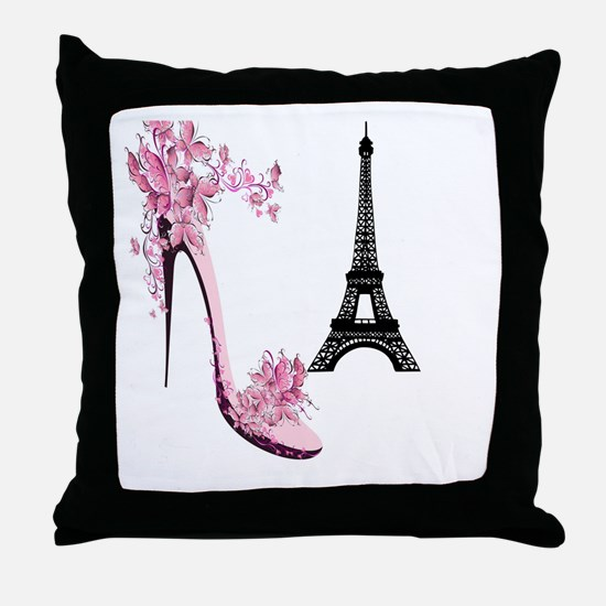 So French So Chic Throw Pillow