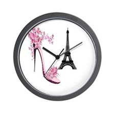 So French So Chic Wall Clock