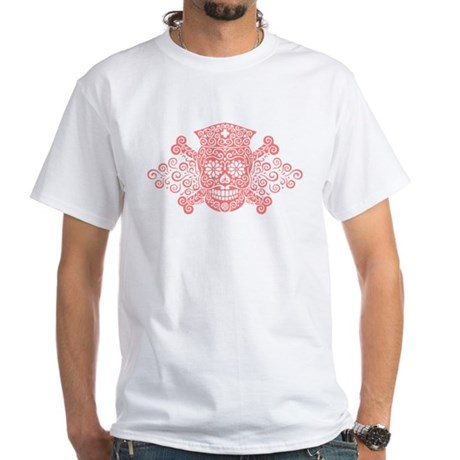 Antique Pirate Nurse II White T-Shirt