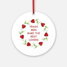 trash man Ornament (Round)