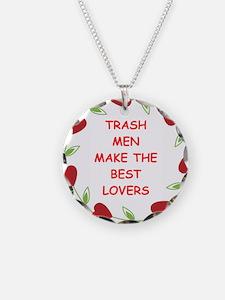 trash man Necklace