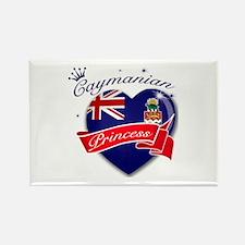 Caymanian Princess Rectangle Magnet