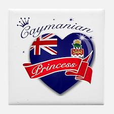 Caymanian Princess Tile Coaster
