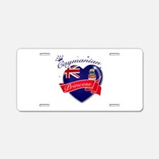 Caymanian Princess Aluminum License Plate