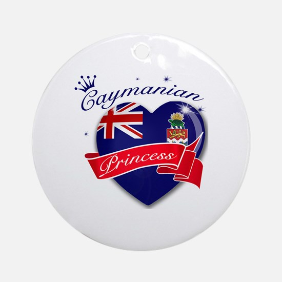 Caymanian Princess Ornament (Round)