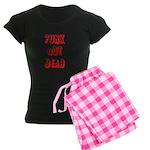 PUNX nOT DEAD Women's Pajamas by OiSKINBLU