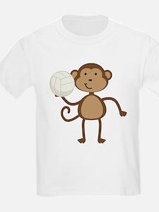 Volleyball Monkey T-Shirt